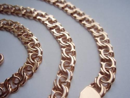 Фото плетение бисмарк золотые цепи